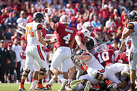 Stanford, CA -- October 25,2014:  Stanford plays Oregon State at Stanford Stadium.  Stanford defeated Oregon State 38-14.