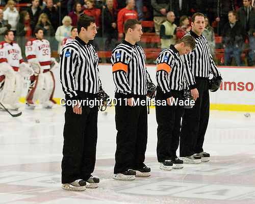 - The visiting Cornell University Big Red defeated the Harvard University Crimson 2-1 on Saturday, January 29, 2011, at Bright Hockey Center in Cambridge, Massachusetts.