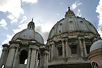 Domes of the Basilica of Saint Peter,