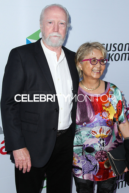 SANTA MONICA, CA, USA - JUNE 11: Scott Wilson at the Pathway To The Cures For Breast Cancer: A Fundraiser Benefiting Susan G. Komen held at the Barker Hangar on June 11, 2014 in Santa Monica, California, United States. (Photo by Xavier Collin/Celebrity Monitor)