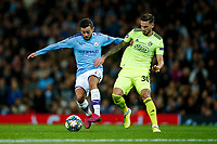 Bernardo Silva of Manchester City and Petar Stojanovic of Dinamo Zagreb during the UEFA Champions League Group C match between Manchester City and Dinamo Zagreb at the Etihad Stadium on October 1st 2019 in Manchester, England. (Photo by Daniel Chesterton/phcimages.com)<br /> Foto PHC/Insidefoto <br /> ITALY ONLY