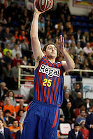 FC Barcelona Regal's Erazem Lorbek during Liga Endesa ACB match.November 18,2012. (ALTERPHOTOS/Acero) /NortePhoto