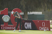 Thomas Pieters (BEL) during the third round of the Omega Dubai Desert Classic, Emirates Golf Club, Dubai, UAE. 26/01/2019<br /> Picture: Golffile | Phil Inglis<br /> <br /> <br /> All photo usage must carry mandatory copyright credit (© Golffile | Phil Inglis)