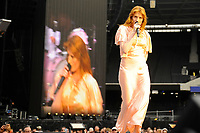 LONDON, ENGLAND - MAY 25: Florence Welch of 'Florence and The Machine' performing at London Stadium on May 25, 2018 in London, England.<br /> CAP/MAR<br /> &copy;MAR/Capital Pictures