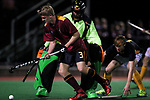 Action during the Final of the Auckland Seconday Schools Hockey between Kings College and Auckland Grammar, Kings College, Auckland, New Zealand. Wednesday 7 June 2017. Photo: Simon Watts/www.bwmedia.co.nz for Kings College