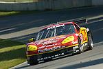 20 June 2008: The Team Sahlen Chevy Corvette, driven by Wayne Nonnamaker (USA) and Joe Nonnamaker (USA) at the Rolex Sports Car Series Emco Gears Classic, Mid-Ohio Sports Car Course, Lexington, Ohio, USA.