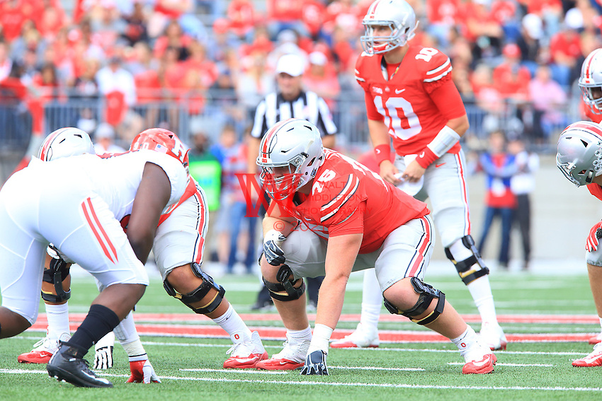 The Ohio State University football team shutout  Rutgers 58-0 in their Big Ten Conference opener. October 1, 2016<br /> (Photo by Walt Middleton Photography 2016)