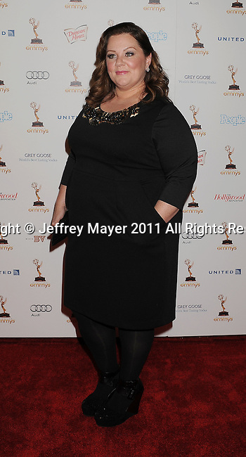 WEST HOLLYWOOD, CA - SEPTEMBER 16: Melissa McCarthy attends the 63rd Annual Emmy Awards Performers Nominee Reception held at the Pacific Design Center on September 16, 2011 in West Hollywood, California.