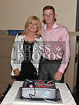 Gary Reilly celebrating his 21st birthday in The Thatch with godmother Carol Browne. Photo:Colin Bell/pressphotos.ie