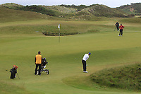 Daniella Barrett (FIN) on the 2nd green during Matchplay Semi-Finals of the Women's Amateur Championship at Royal County Down Golf Club in Newcastle Co. Down on Saturday 15th June 2019.<br /> Picture:  Thos Caffrey / www.golffile.ie