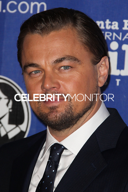 SANTA BARBARA, CA - FEBRUARY 06: Leonardo DiCaprio at the 29th Santa Barbara International Film Festival - Honoring Martin Scorsese And Leonardo DiCaprio With The Cinema Vanguard Award held at Arlington Theatre on February 6, 2014 in Santa Barbara, California. (Photo by Xavier Collin/Celebrity Monitor)