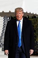 Donald Trump departs to to Florida
