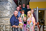 30th Birthday: Doreen Enright, Tarbert celebrating her 30th birthday with family & friends at Behan's Horseshoe Restautrant, Listowel on Sunday last. Front : Donnacha, Danny Jr.,Catherine & Doreen Enright. Middle : Peter Lavelle, Anne Enright & Ina Culhane. Back : Tom Culhane, Willie King & Tom Culhane.