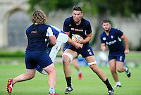 Charlie Ewels of Bath Rugby in action. Bath Rugby pre-season training session on August 9, 2016 at Farleigh House in Bath, England. Photo by: Patrick Khachfe / Onside Images