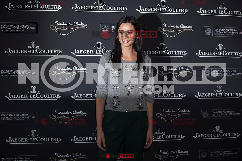 Actress Dafne Fernandez poses during Aladina Foundation presentation at 63rd Donostia Zinemaldia (San Sebastian International Film Festival) in San Sebastian, Spain. September 18, 2015. (ALTERPHOTOS/Victor Blanco) /NortePhoto.com