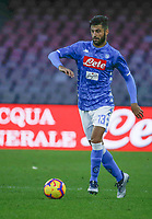 Sebastiano Luperto of Napoli  during the  italian serie a soccer match,  SSC Napoli - Frosinone       at  the San  Paolo   stadium in Naples  Italy , December 08, 2018