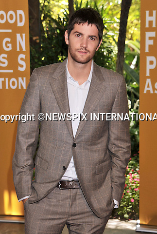 "JIM STURGESS.attends The Hollywood Foreign Press Association's annual luncheon announcing its new officers and directors and presenting grants to non-profit entertainment related organizations and scholarship programs held at the Beverly Hills Hotel, Beverly Hills, Los Angeles_04/08/2011.Mandatory Photo Credit: ©Crosby/Newspix International. .**ALL FEES PAYABLE TO: ""NEWSPIX INTERNATIONAL""**..PHOTO CREDIT MANDATORY!!: NEWSPIX INTERNATIONAL(Failure to credit will incur a surcharge of 100% of reproduction fees).IMMEDIATE CONFIRMATION OF USAGE REQUIRED:.Newspix International, 31 Chinnery Hill, Bishop's Stortford, ENGLAND CM23 3PS.Tel:+441279 324672  ; Fax: +441279656877.Mobile:  0777568 1153.e-mail: info@newspixinternational.co.uk"