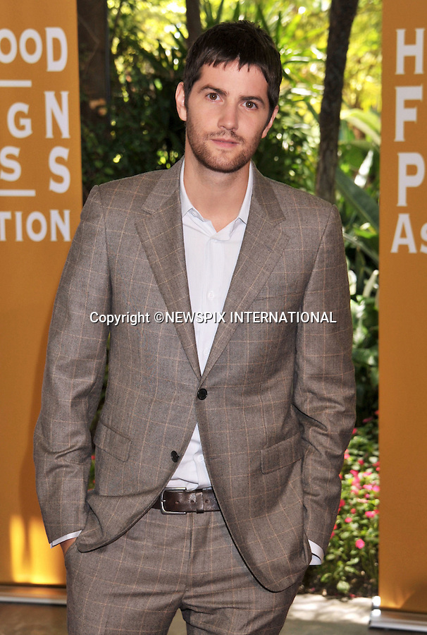 """JIM STURGESS.attends The Hollywood Foreign Press Association's annual luncheon announcing its new officers and directors and presenting grants to non-profit entertainment related organizations and scholarship programs held at the Beverly Hills Hotel, Beverly Hills, Los Angeles_04/08/2011.Mandatory Photo Credit: ©Crosby/Newspix International. .**ALL FEES PAYABLE TO: """"NEWSPIX INTERNATIONAL""""**..PHOTO CREDIT MANDATORY!!: NEWSPIX INTERNATIONAL(Failure to credit will incur a surcharge of 100% of reproduction fees).IMMEDIATE CONFIRMATION OF USAGE REQUIRED:.Newspix International, 31 Chinnery Hill, Bishop's Stortford, ENGLAND CM23 3PS.Tel:+441279 324672  ; Fax: +441279656877.Mobile:  0777568 1153.e-mail: info@newspixinternational.co.uk"""