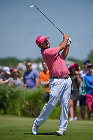Stephan Jaeger (GER) watches his tee shot on 8 during round 4 of the AT&T Byron Nelson, Trinity Forest Golf Club, Dallas, Texas, USA. 5/12/2019.<br /> Picture: Golffile   Ken Murray<br /> <br /> <br /> All photo usage must carry mandatory copyright credit (© Golffile   Ken Murray)