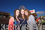 Enjoying the Rose of Tralee at Birds Bazzar  on Friday were Ciara Crowley, Tara Boyle, Shiela Reidy, Tralee.