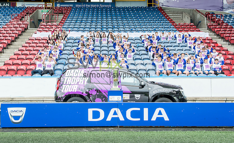 Picture by Allan McKenzie/SWpix.com - 30/06/16 - Rugby League - Dacia Trophy Tour - John Smiths Stadium, Huddersfield, England - Dacia Trophy Tour 100 Days to Go.