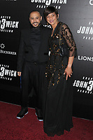 "Aissam Bouali and guest at the World Premiere of ""John Wick: Chapter 3 Parabellum"", held at One Hanson in Brooklyn, New York, USA, 09 May 2019"