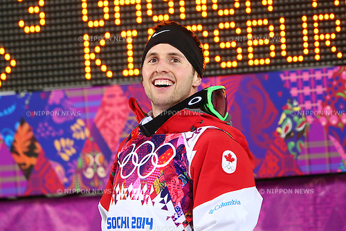 Alexandre Bilodeau (CAN),<br /> FEBRUARY 10, 2014 - Freestyle Skiing : <br /> Men's Moguls Final<br /> at &quot;ROSA KHUTOR&quot; Extreme Park <br /> during the Sochi 2014 Olympic Winter Games in Sochi, Russia. <br /> (Photo by Yohei Osada/AFLO SPORT) [1156]