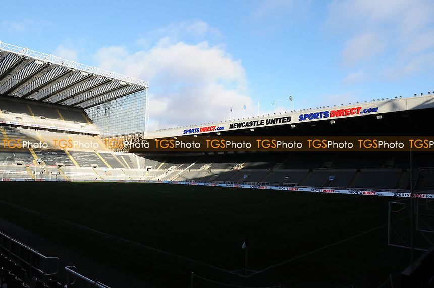 Sun shines over St James Park - Newcastle United vs Arsenal - Barclays Premier League Football at St James Park, Newcastle upon Tyne - 29/12/13 - MANDATORY CREDIT: Steven White/TGSPHOTO - Self billing applies where appropriate - 0845 094 6026 - contact@tgsphoto.co.uk - NO UNPAID USE