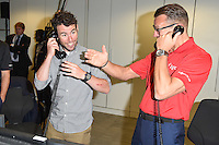 Mark Cavendish<br /> on the trading floor for the BGC Charity Day 2016, Canary Wharf, London.<br /> <br /> <br /> &copy;Ash Knotek  D3152  12/09/2016