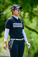 Eun Jeong Seong (KOR) watches her tee shot on 13 during round 1 of  the Volunteers of America Texas Shootout Presented by JTBC, at the Las Colinas Country Club in Irving, Texas, USA. 4/27/2017.<br /> Picture: Golffile | Ken Murray<br /> <br /> <br /> All photo usage must carry mandatory copyright credit (&copy; Golffile | Ken Murray)