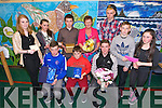 Principal Anne O'Sullivan of Castleisland Community College retires with over 30 years service, here with some of the students she has taught  at a celebration Mass at the school on Monday. Pictured Patrick Horan, Nicole Downey, Ryan O'Sullivan, Eoin McCarthy, Claire Cahill, Shane Browne, Dan O'Sullivan, Yannik Gier, Adam O'Donoghue and Amy Reidy