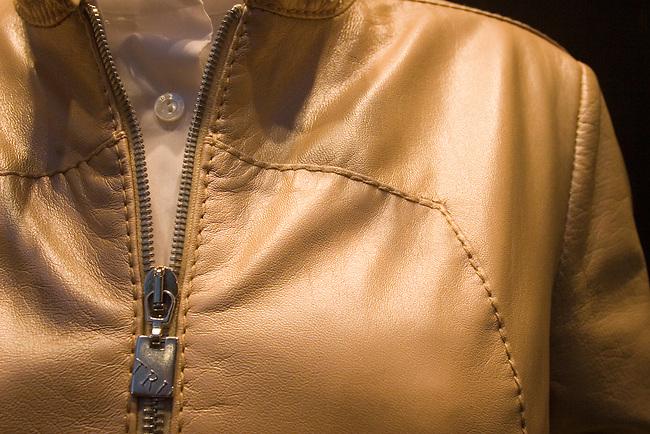 Leather Jacket, Trussardi, Rome, Italy