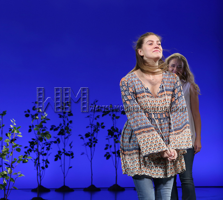 Laura Dreyfuss during the Broadway Opening Night Performance Curtain Call for 'Dear Evan Hansen'  at The Music Box Theatre on December 3, 2016 in New York City.