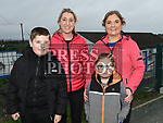 Ciara Briody, James, Aisling and Lily May Neacy who took part in the Operation Transformation walk in Dunleer. Photo:Colin Bell/pressphotos.ie