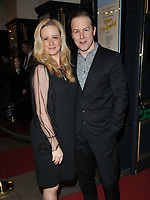 Laura Wade and Samuel West at the &quot;Home, I'm Darling&quot; press night, Duke of York's Theatre, St Martin's Lane, London, England, UK, on Tuesday 05th February 2019.<br /> CAP/CAN<br /> &copy;CAN/Capital Pictures