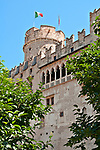 Buonconsiglio Castle which dates back to the 13th century and is now a museum in Trento, Italy