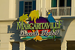 Margaritaville Beach Hotel sign
