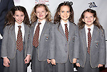 (L-R) actresses Bailey Ryon, Milly Shapiro, Oona Laurence, and Sophia Gennusa  attending the 2013 Actors Fund Annual Gala at the Mariott Marquis Hotel in New York on 4/29/2013...