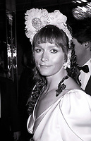 ***FILE PHOTO*** Margot Kidder has passed away at 69****<br /> Margot Kidder attending 'Common Performance Benefit' on April 28, 1986 at the St. Regis Hotel in New York City. <br /> CAP/MPI/WAL<br /> &copy;WAL/MPI/Capital Pictures
