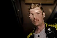 Nick Schultz (AUS/Mitchelton-Scott) post-race in the teambus<br /> <br /> 13th Strade Bianche 2019 (1.UWT)<br /> One day race from Siena to Siena (184km)<br /> <br /> ©kramon