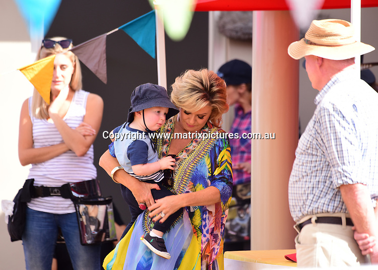 1 MAY 2017 SYDNEY AUSTRALIA<br /> WWW.MATRIXPICTURES.COM.AU<br /> <br /> EXCLUSIVE PICTURES<br /> <br /> Emily Symons pictured on set of Home &amp; Away filming at Palm Beach. Emily received a visit from her son Henry during the course of filming and was overjoyed to spend some time with him between takes. <br />  <br /> Note: All editorial images subject to the following: For editorial use only. Additional clearance required for commercial, wireless, internet or promotional use.Images may not be altered or modified. Matrix makes no representations or warranties regarding names, trademarks or logos appearing in the images.
