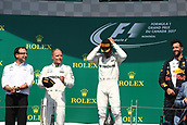 June 11th 2017, Circuit Gilles Villeneuve, Montreal Quebec, Canada; Formula One Grand Prix, Race Day; Lewis Hamilton - Mercedes AMG Petronas wins in Canada