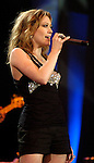 Hilary Duff performs at the Houston Livestock Show & Rodeo March 16,2006.