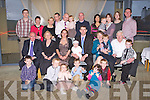 BABY JOY: Proud parents Muireann Lambe and Michael Finn (originally Tralee), Melbourne, Australia (seated centre) of little Darragh who was Christened by Fr Francis Nolan at St John's Church, Tralee and celebrated afterwards with family and friends at the Ballyroe Heights hotel, Tralee on Saturday.