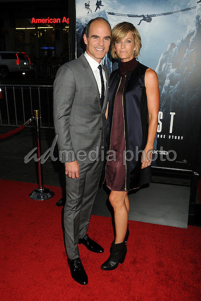 "9 September 2015 - Hollywood, California - Michael Kelly, Karyn Kelly. ""Everest"" Los Angeles Premiere held at the TCL Chinese Theatre. Photo Credit: Byron Purvis/AdMedia"