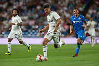 Marco Asensio of Real Madrid during the match between Real Madrid v Getafe CF of LaLiga, 2018-2019 season, date 1. Santiago Bernabeu Stadium. Madrid, Spain - 19 August 2018. Mandatory credit: Ana Marcos / PRESSINPHOTO