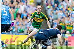Colm Cooper Kerry in action against  Dublin in the All Ireland Senior Football Semi Final at Croke Park on Sunday.