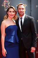 LOS ANGELES - MAY 5:  Kyle Lowder,  Emma Basler Demirjian at the 2019  Daytime Emmy Awards at Pasadena Convention Center on May 5, 2019 in Pasadena, CA