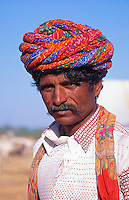 India A man from Rajasthan