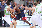 07.09.2014. Barcelona, Spain. 2014 FIBA Basketball World Cup, round of 8. Picture show J. Harden in action during game between Slovenia v Usa at Palau St. Jordi.